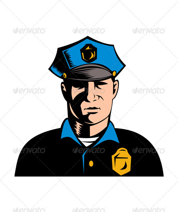 Policeman Police Officer - People Characters