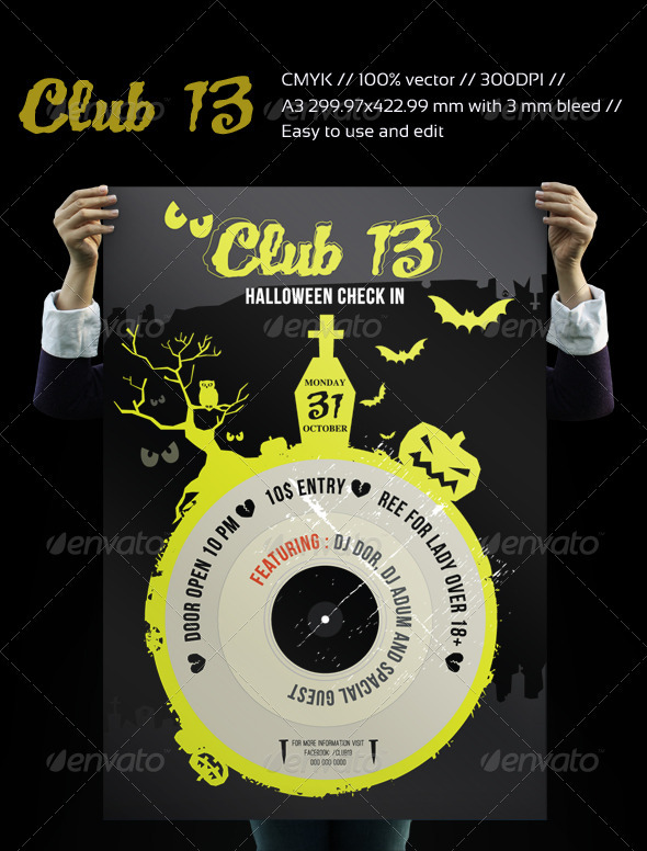 CLUB13 HALLOWEEN - Clubs & Parties Events
