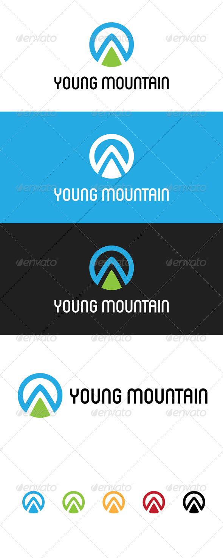 Young Mountain - Symbols Logo Templates
