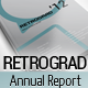 Retrograd - Annual Business Report - GraphicRiver Item for Sale