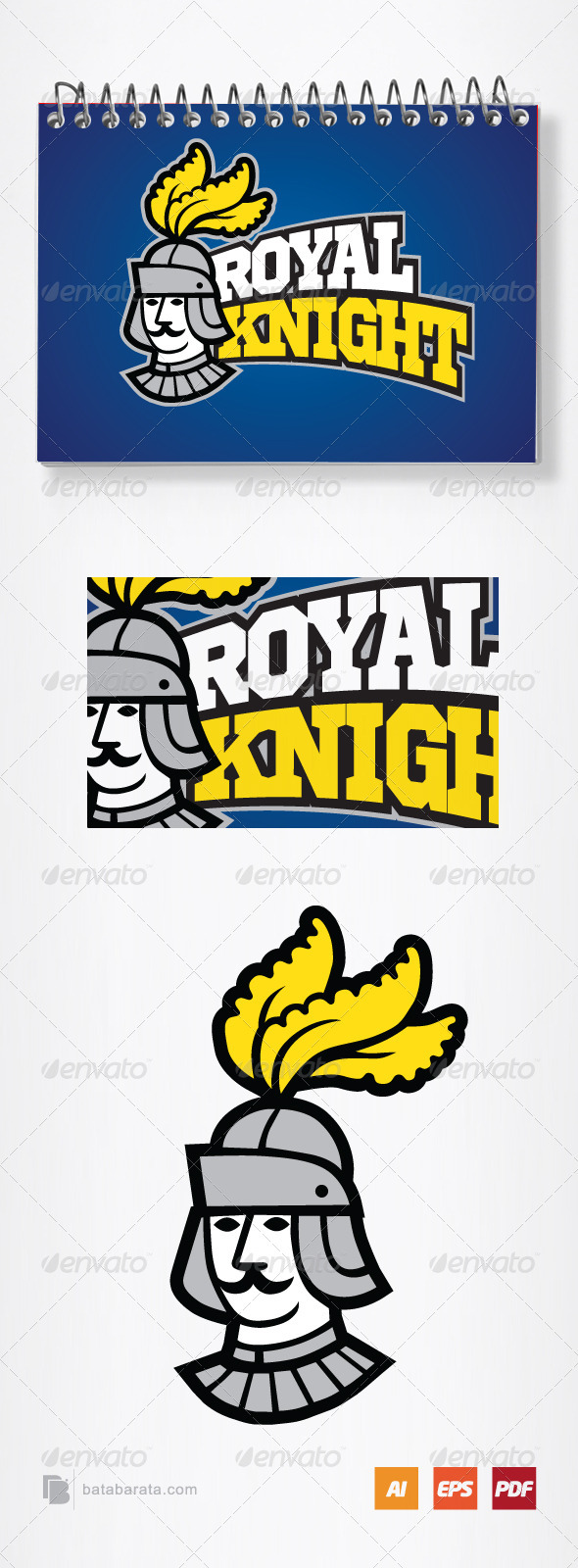 Royal Knight - Humans Logo Templates