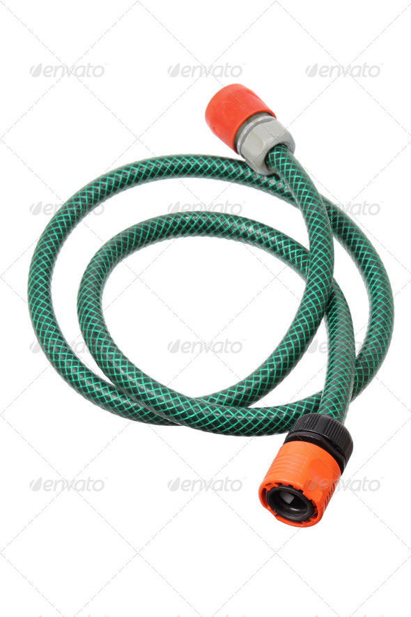 Garden Hose - Stock Photo - Images