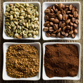 green, roasted, ground and instant coffee - PhotoDune Item for Sale