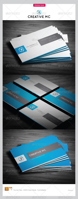 Corporate Business Cards 119 - Corporate Business Cards