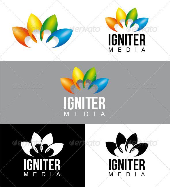 Igniter Media Logo - Symbols Logo Templates
