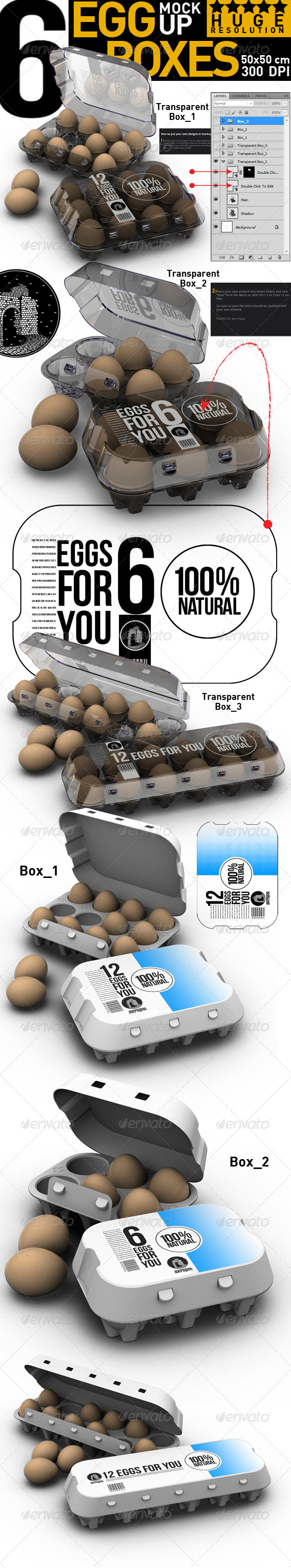 Egg Boxes - Food and Drink Packaging