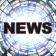 Various News Texts in Monitors Tunnel (5 Videos Included) - VideoHive Item for Sale