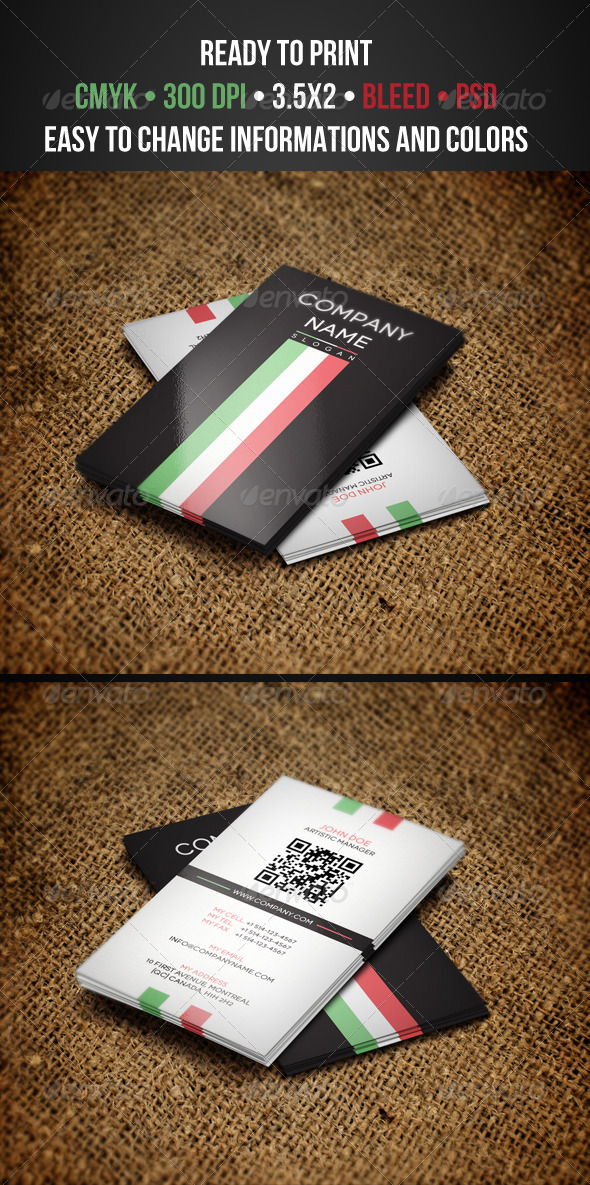 Classy Business Cards - Creative Business Cards