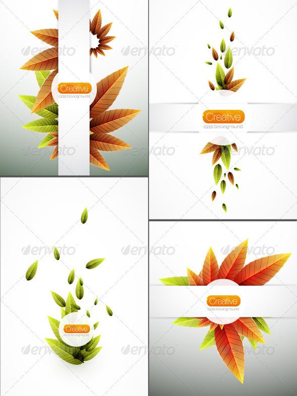 Season Leaves Backgrounds - Seasons Nature