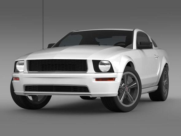 Ford Mustang Bullit 2008  - 3DOcean Item for Sale
