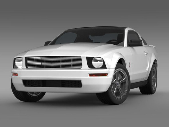 Ford Mustang WIP - 3DOcean Item for Sale