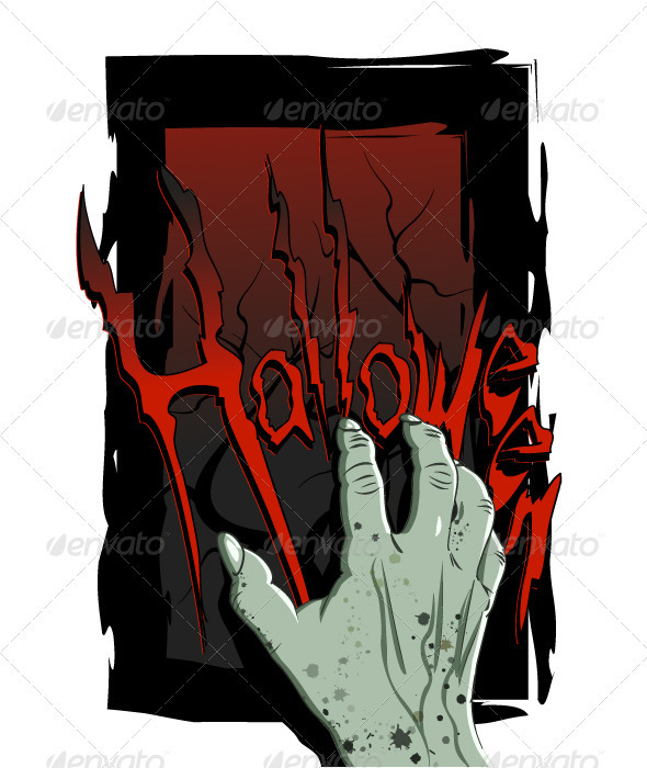Hand Halloween - Halloween Seasons/Holidays