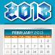 NeoMan_2013 Official Calendar Templates - GraphicRiver Item for Sale