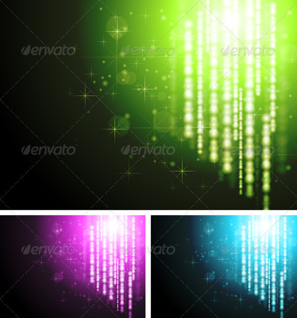 Abstract sparkling backgrounds - Abstract Conceptual