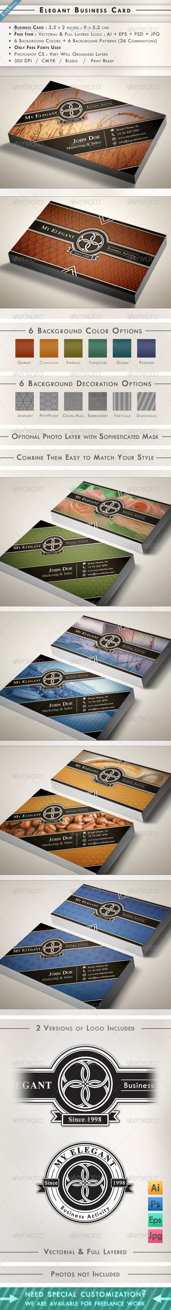 Elegant Business Card - Creative Business Cards