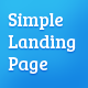 Simple Landing Page Nulled