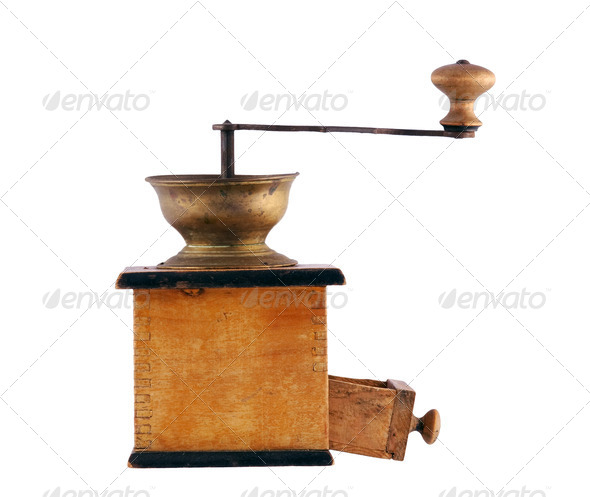 coffee mill - Stock Photo - Images