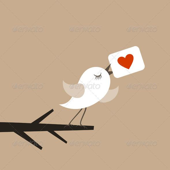 Bird of love5 - Animals Characters