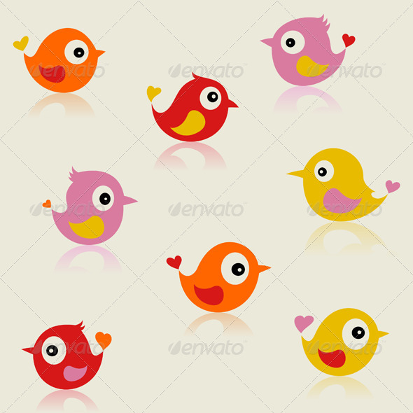 Birdie5 - Animals Characters