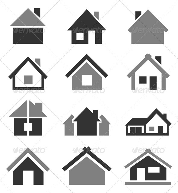 Home icon2 - Buildings Objects