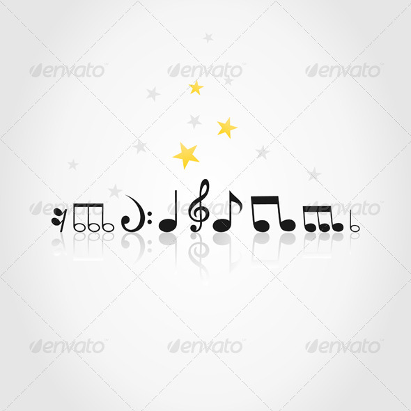 Musical note9 - Miscellaneous Vectors