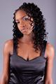 Young African amercian woman posing