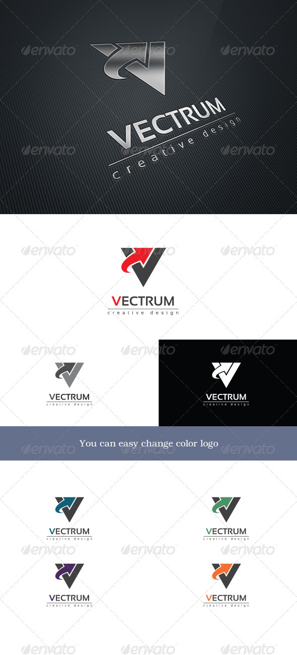 Vectrum Logo Template - Letters Logo Templates