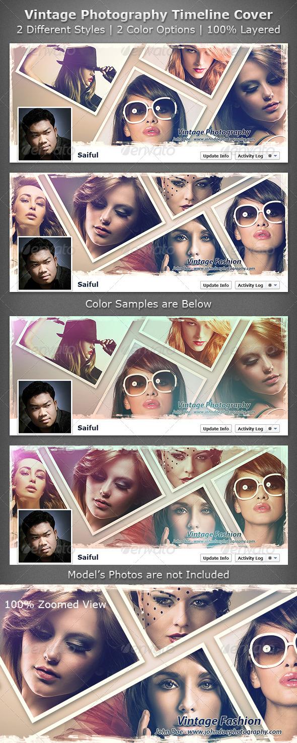 Vintage Photography Timeline Cover - Facebook Timeline Covers Social Media