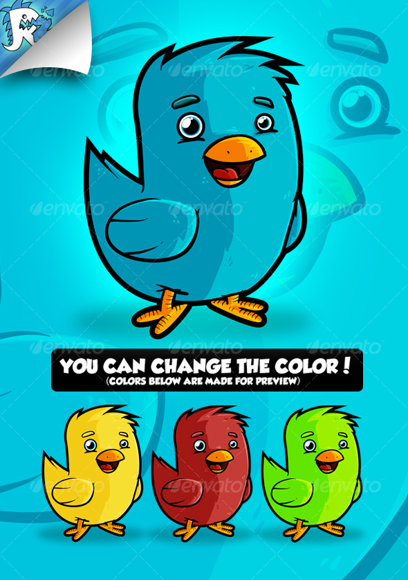 Twitter Bird - Animals Characters