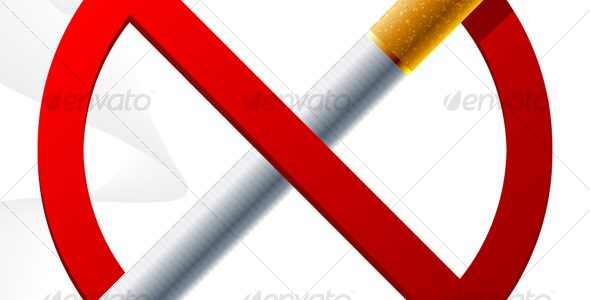 No smoking sign - Objects Vectors