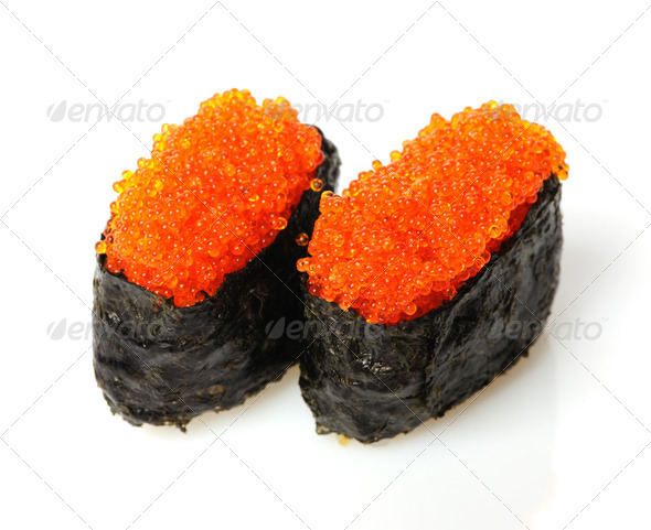 Tobiko sushi - Stock Photo - Images