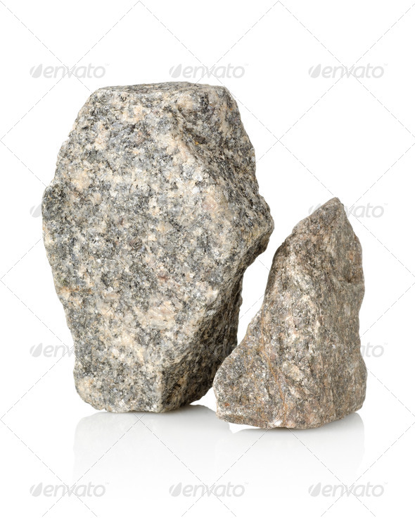 Two stones - Stock Photo - Images