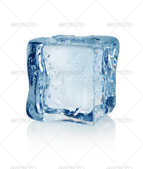 Ice cube - Stock Photo - Images