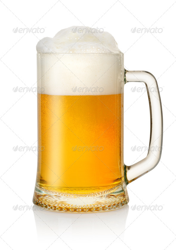Mug of beer - Stock Photo - Images