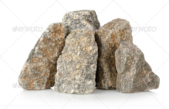 Heap of gravel - Stock Photo - Images