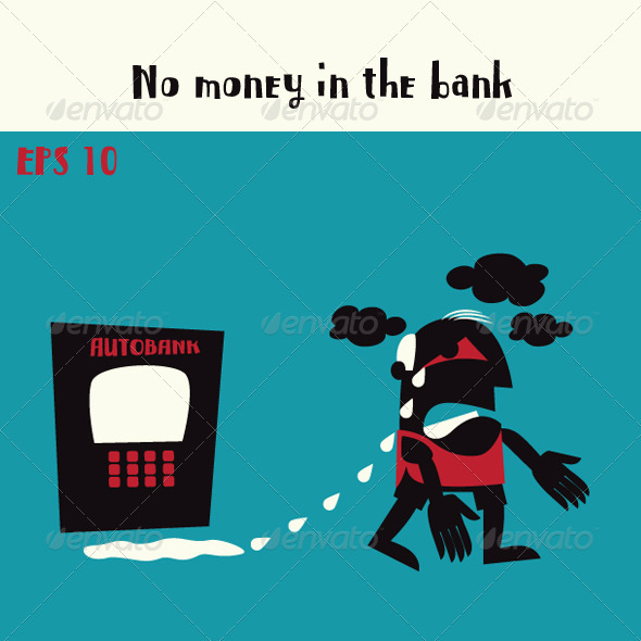 Man with No Money in the Bank - Characters Vectors