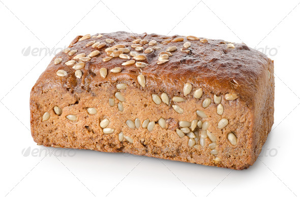 Bread with seeds - Stock Photo - Images