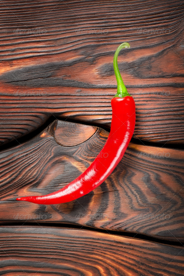 Red chili pepper - Stock Photo - Images
