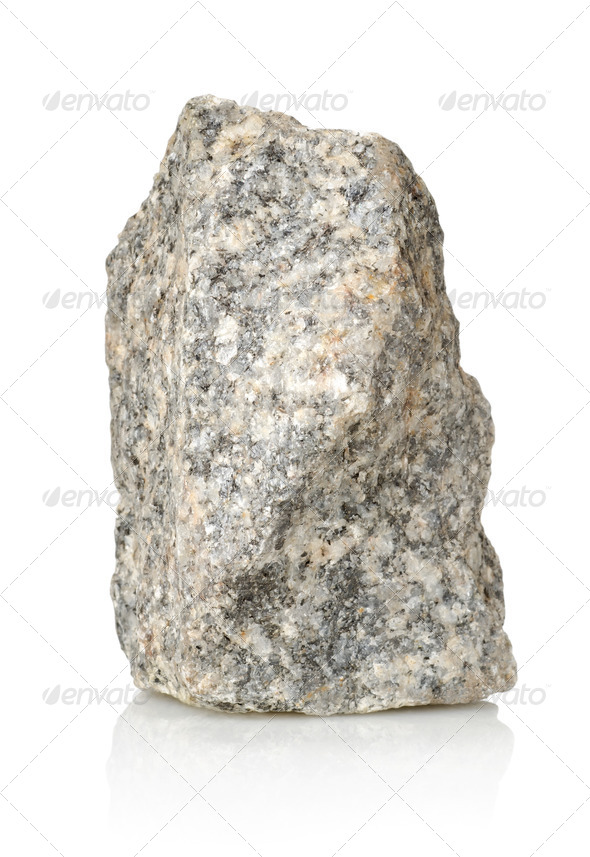 Grey stone gravel - Stock Photo - Images