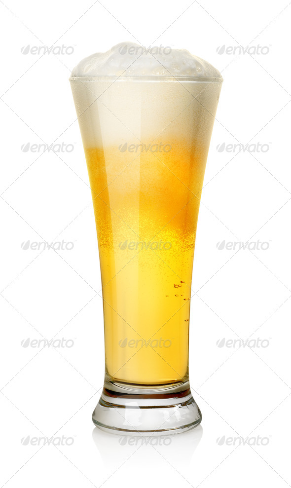 Beer isolated - Stock Photo - Images