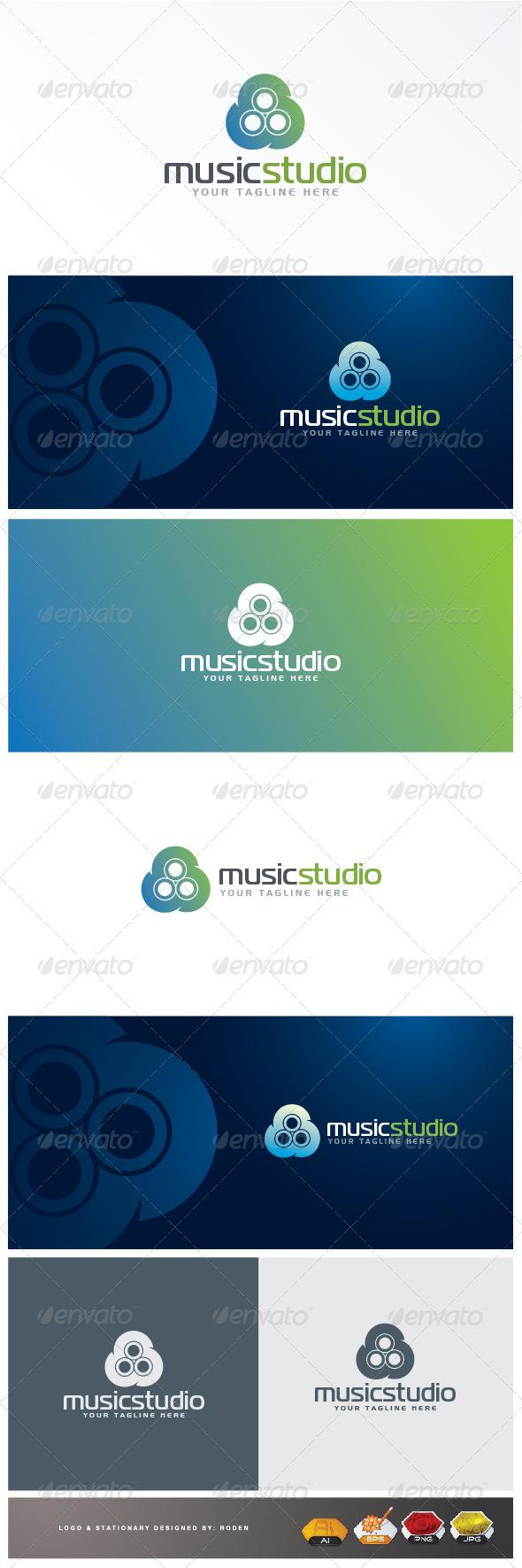 Music Logo - Symbols Logo Templates
