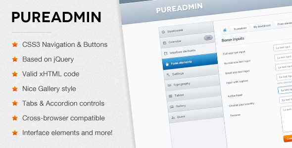 Image of Pure Admin - Modern & Clean Admin Template