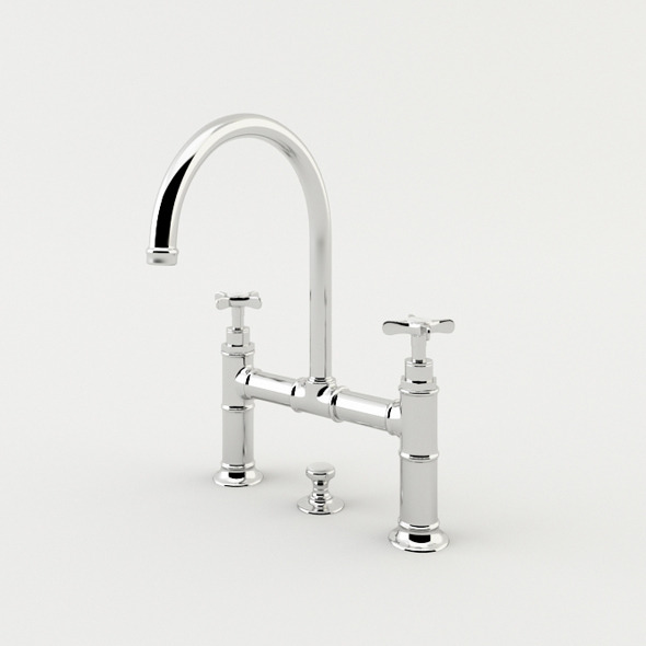 Washbasin Faucet - 3DOcean Item for Sale