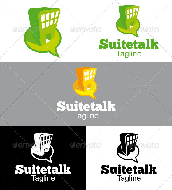 Suitetalk Logo - Buildings Logo Templates