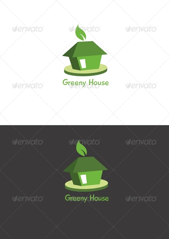 Greeny House - Buildings Logo Templates