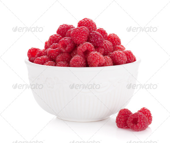 Ripe raspberries - Stock Photo - Images