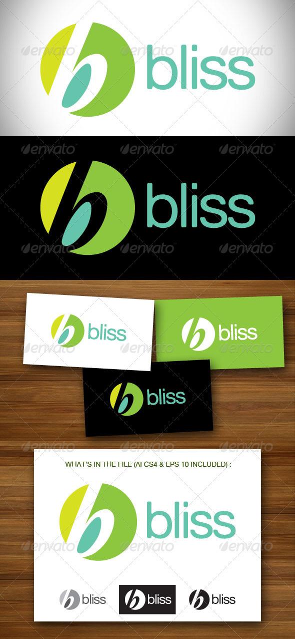 Bliss Logo - Letters Logo Templates