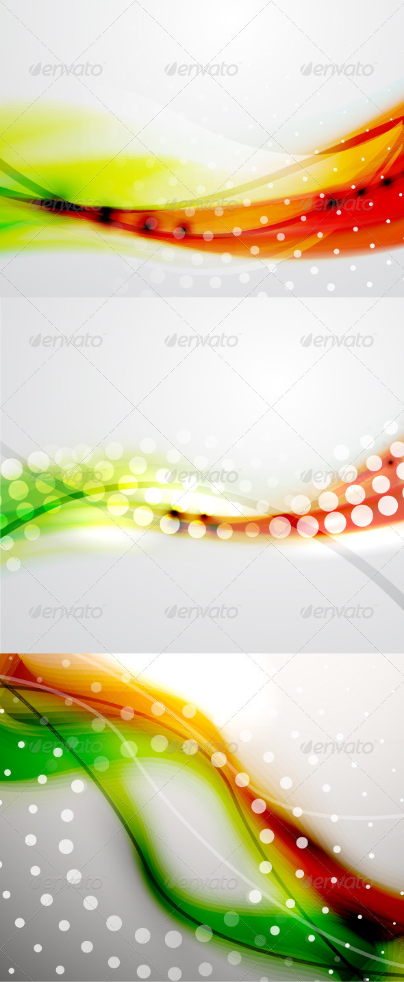 Shiny Red Green Backgrounds - Backgrounds Decorative