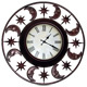 Moons & Stars Wall Clock - GraphicRiver Item for Sale