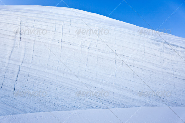 Mountain glacier - Stock Photo - Images